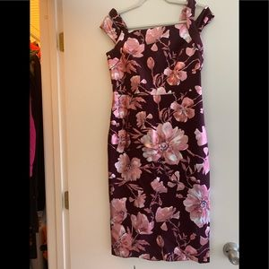 New York and Company flowery dress